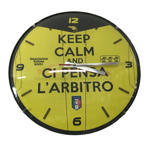 "Orologio ""KEEP CALM"" GIALLO"