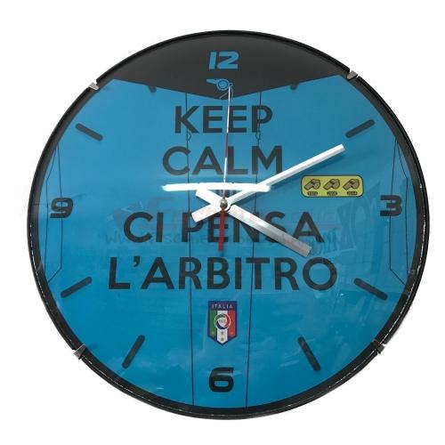 "Orologio ""KEEP CALM"" AZZURRO"