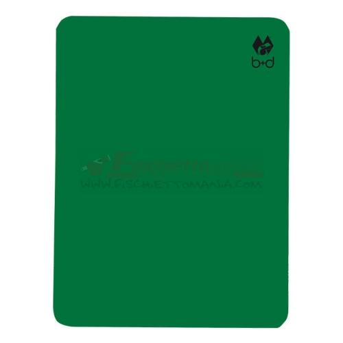 Cartellino B+D Verde 12x9 cm