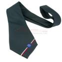 Cravatta logo AIA GRIGIO CANNA DI FUCILE