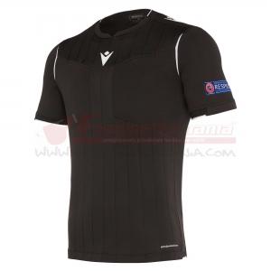 Maglia gara MACRON UEFA ss Black