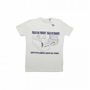 DOGSO T-Shirt DIVANO manica corta BIANCO