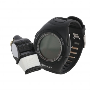 Fox 40 Whistle Watch BLACK