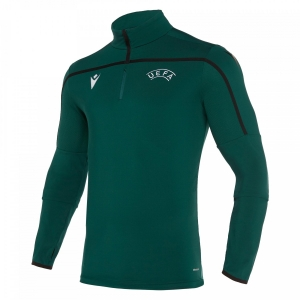 Top tuta allenamento mezza zip MACRON UEFA Referee
