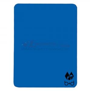 Cartellino B+D Blu 12x9 cm