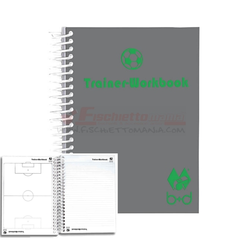 Trainer Book A6 B+D CALCIO