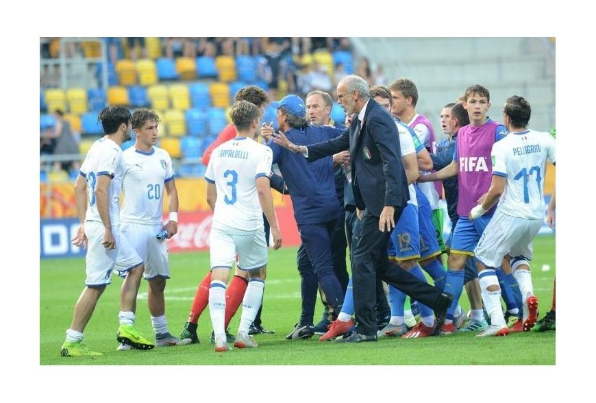 Ucraina-Italia: il gol più bello è quello di Nicolato